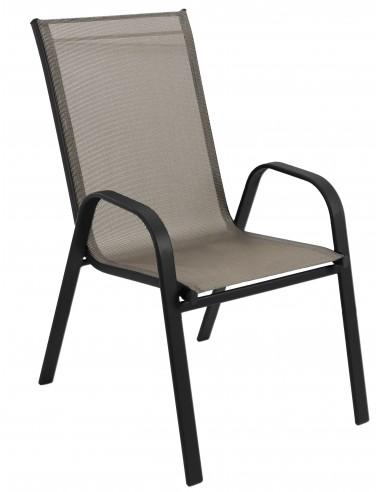 Krzesło Ogrodowe Polo Mocca