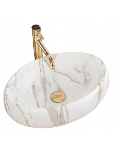 Umywalka Ceramiczna Linda Lava Mat