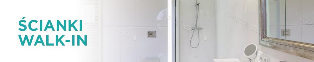 Ścianki Prysznicowe Walk-In